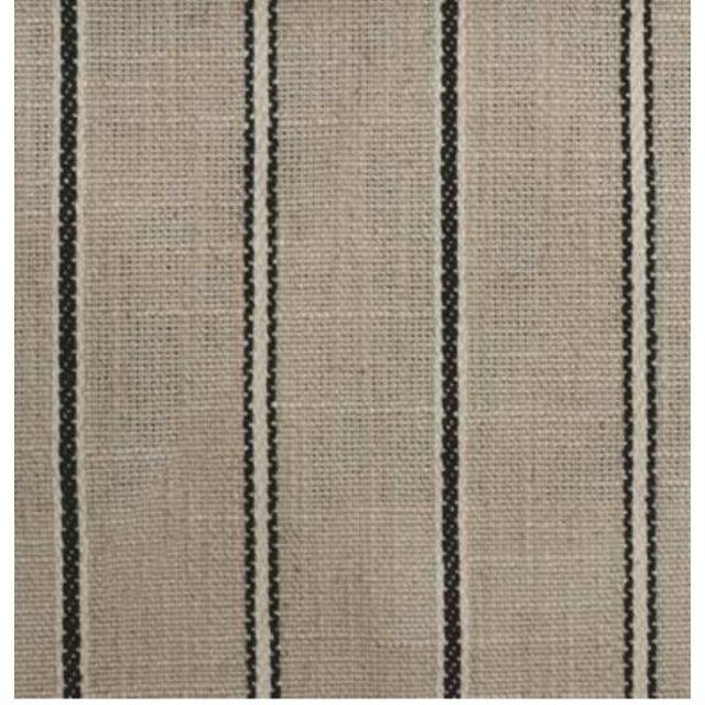 Black Stripe Fabric - 5 Yards - Image 2 of 2