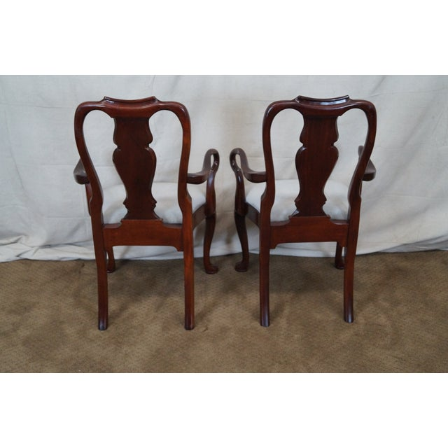 Hickory 18th Century Style Dining Chairs - S/6 - Image 4 of 10