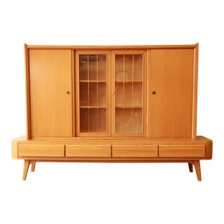 Mid-Century Modern Sideboard With Hutch