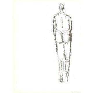 Rodolphe Raoul Ubac, Personnage Vu Du Dos, 1966 Lithograph
