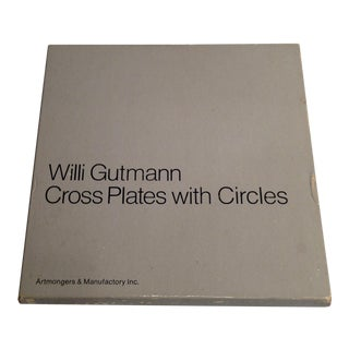 "Willi Gutmann ""Cross Plate with Circles"""