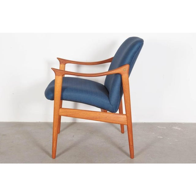 Mid-Century Teak Arm Chair by Rastad & Relling - Image 5 of 6