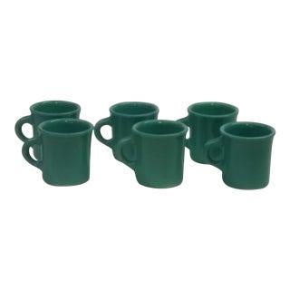 Homer Laughlin Mugs - Set of 6