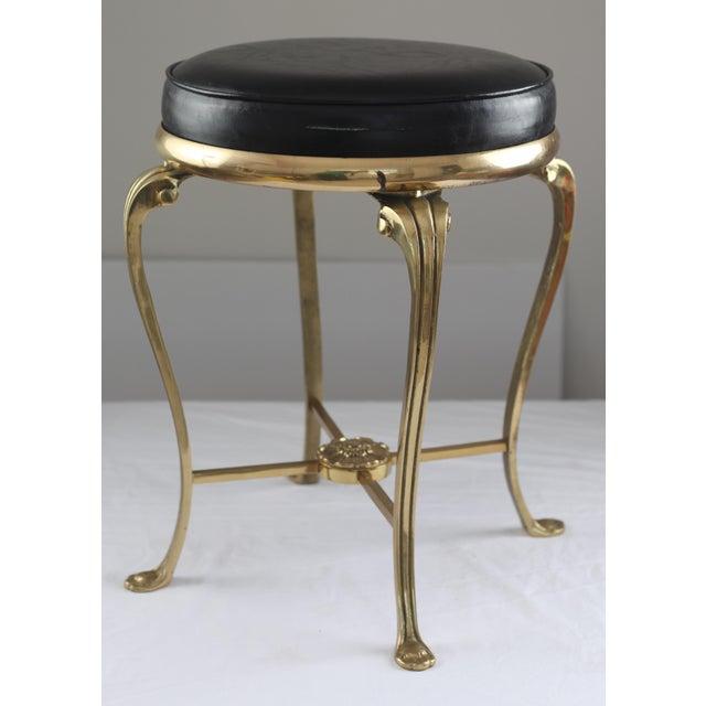 Hollywood Regency Style Vanity Stool Chairish