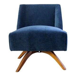 Vintage Mid Century Modern Accent Chair