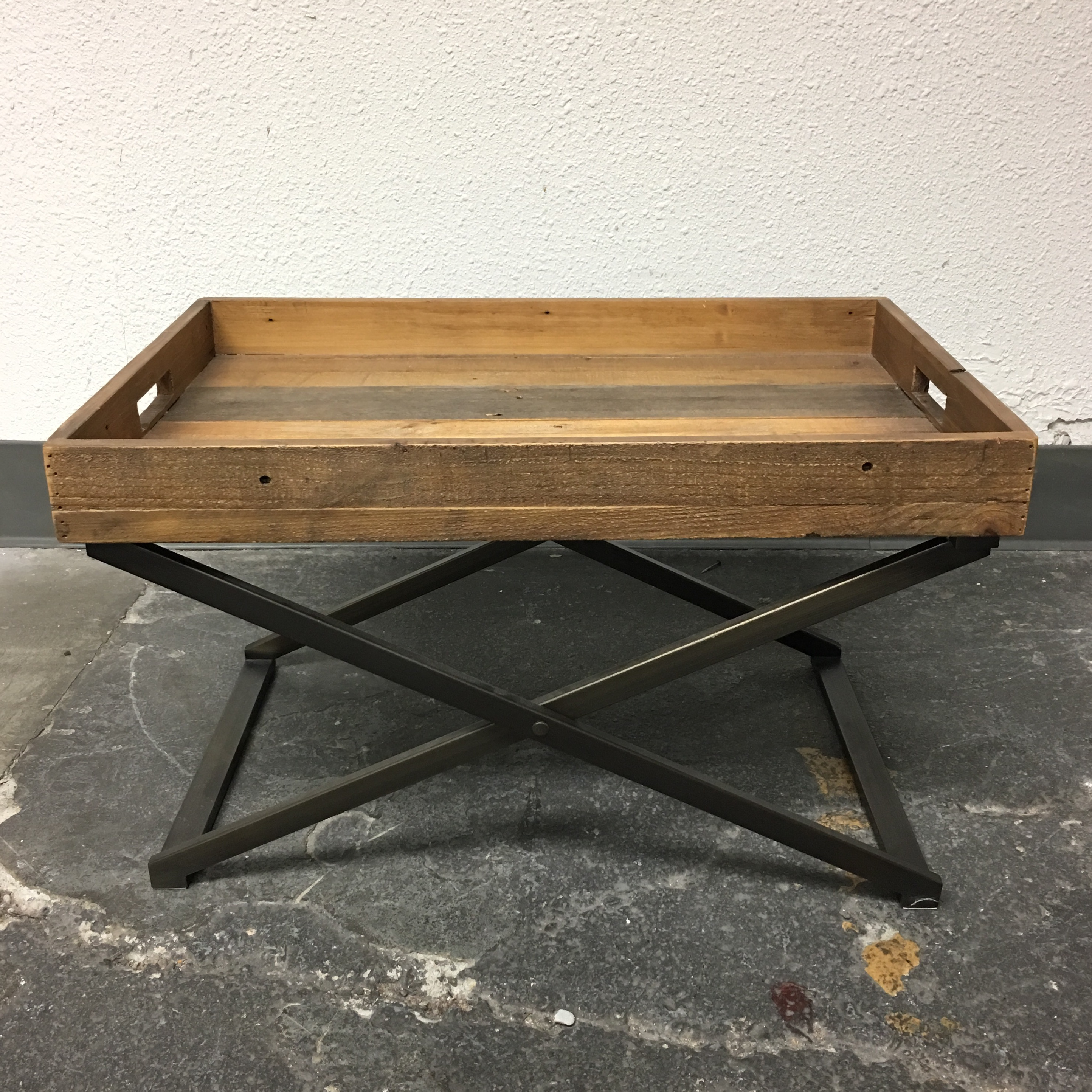 Delightful West Elm Low Butler Tray Coffee Table   Image 2 Of 8
