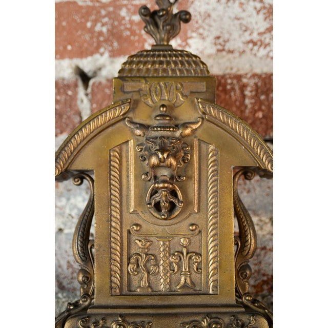 19th Century Creusy Paris Bronze French Clock - Image 6 of 10