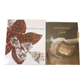 Judith Ripka and Van Cleef & Arpels Books - a Pair