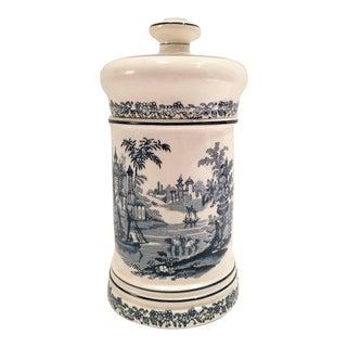 1930s Spanish Ceramic Cigar Jar