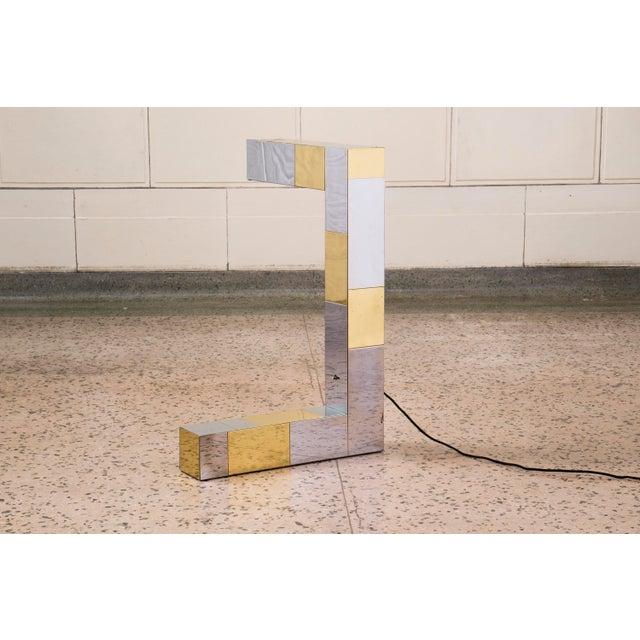 Paul Evans Axis Lamp - Image 2 of 5