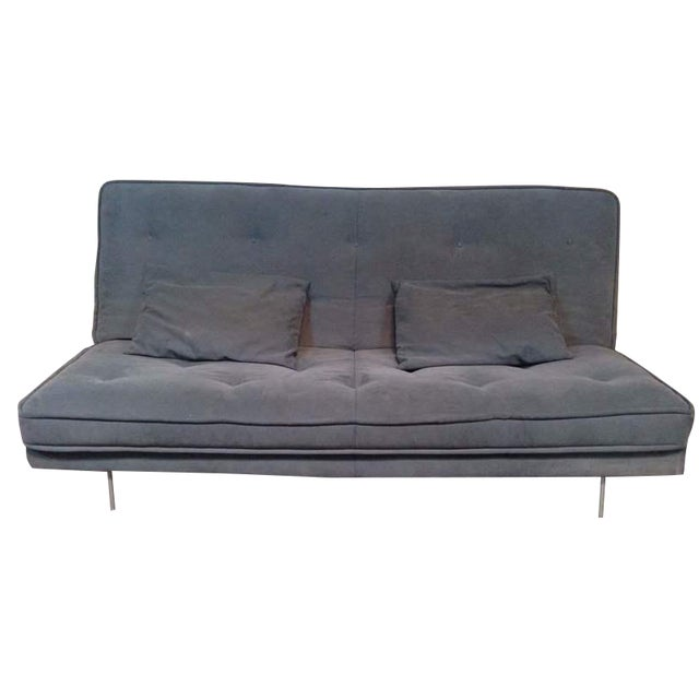 Ligne roset nomade grey sofa bed chairish - Ligne roset nomade sofa ...