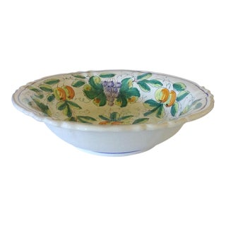 Large Italian Serving Bowl
