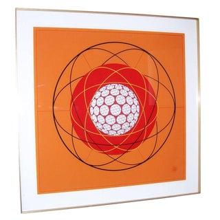"""Fantastic Orignal Art by ERNST LURKER - """"Suspension"""""""
