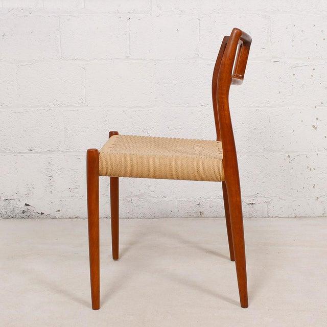 Danish Modern Teak Niels Moller 79 Chairs S 6 Chairish