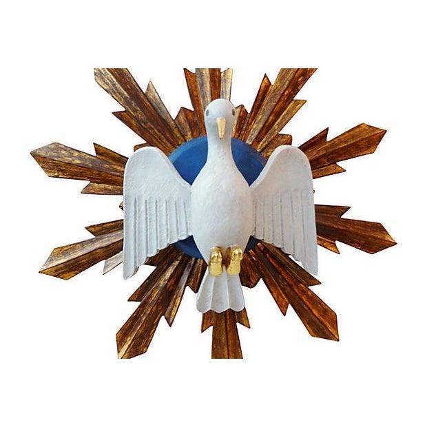 Wooden Dove Sunburst - Image 2 of 7