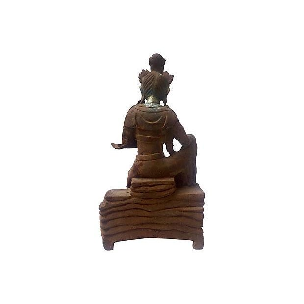 Antique Goddess, Quan Yin - Image 6 of 7