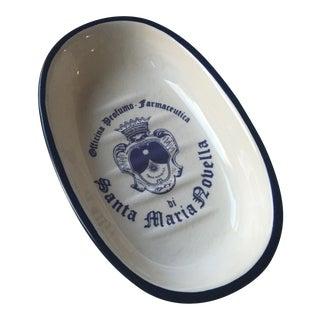 Vintage Santa Maria Novella Ceramic Soap Dish