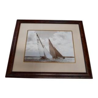 Framed Bekens Sailing Print