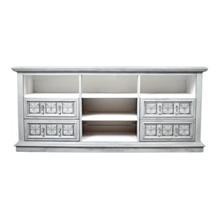 White Fine Furniture Light Gray Media Console /Sideboard