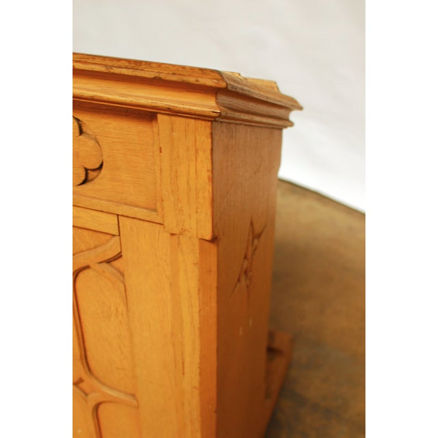 Image of Gothic Church Pulpit Lectern
