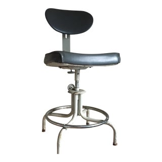 Royal Metal Manufacturing Company Industrial Grey Stool