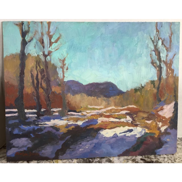 Jocelyn Davis Plein Air Painting - Image 3 of 11