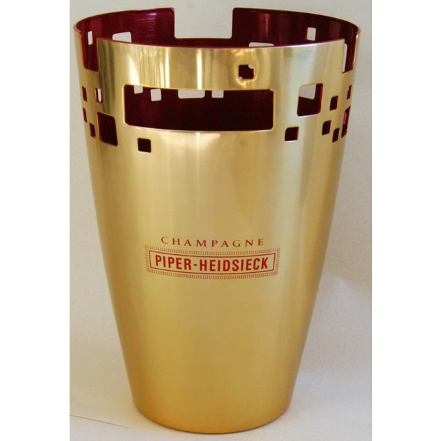 Piper-Heidsieck Champagne French Ice Bucket - Image 4 of 11
