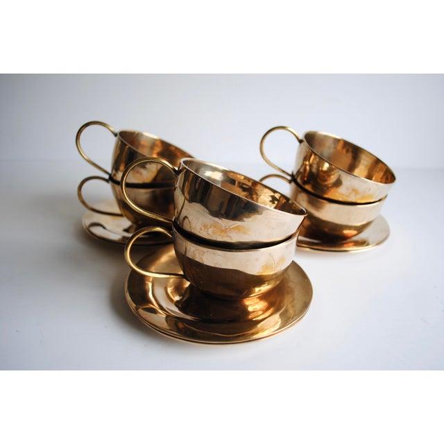 Image of Vintage Cups & Saucers - Set of 6