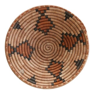 South African Basket With Diamonds