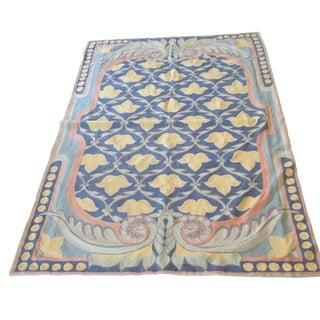 "Antique Bukhara Suzani Rug / Textile - 3'10"" X 5'9"""