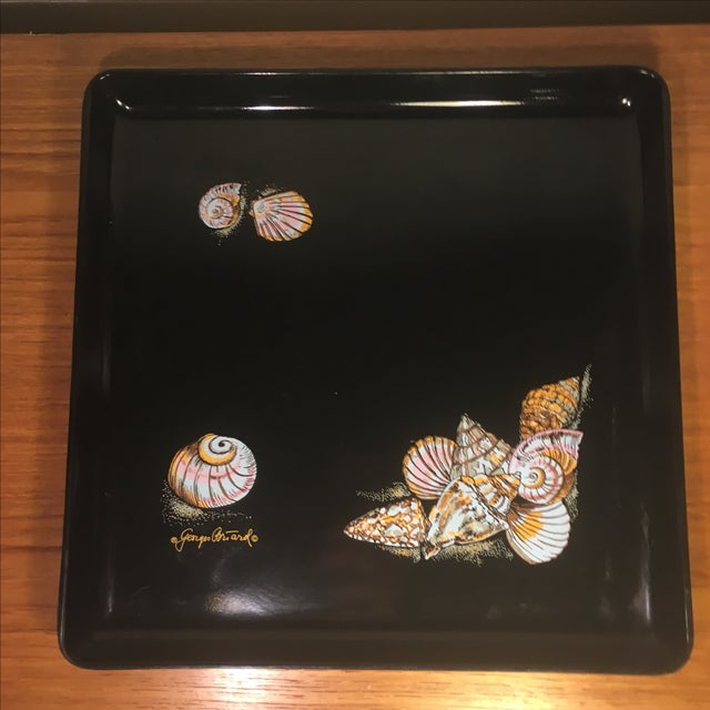 Georges Briard Vintage Signed Seashell Tray - Image 2 of 7