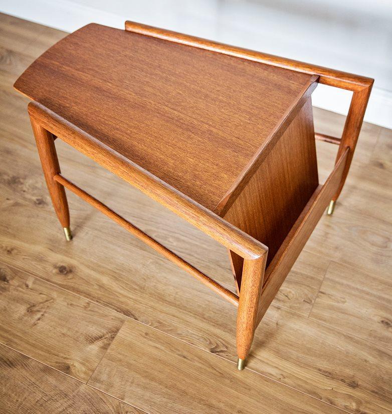 John Keal For Brown Saltman Wedge Table   Image 3 Of 7