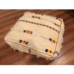 Image of Large Moroccan Wedding Blanket Floor Cushion