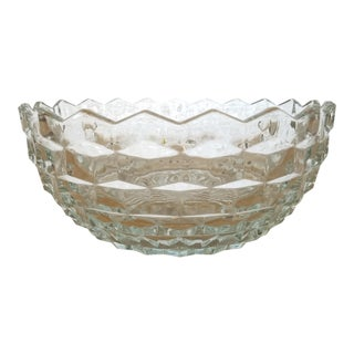 Vintage Fostoria Glass Bowl