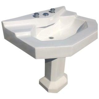 Vintage Jacob Delafon Pedestal Sink