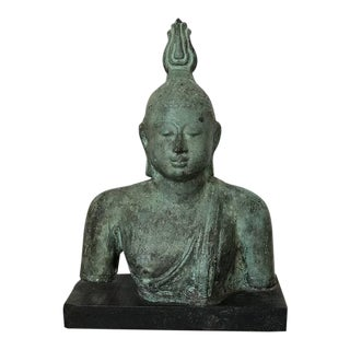 Bronze Buddha Statue After Antique Model