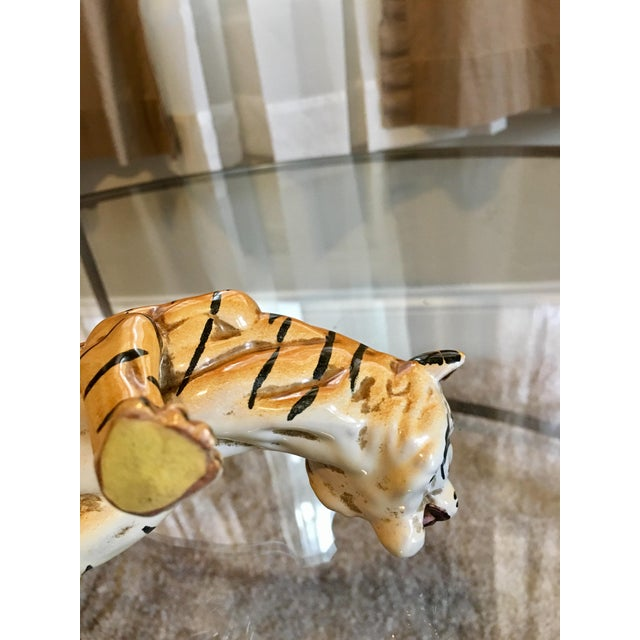 1970's Italian Terracotta Tiger - Image 8 of 8