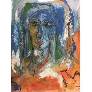 Jorge Spiropulo Cubist Expressionism Painting 1997