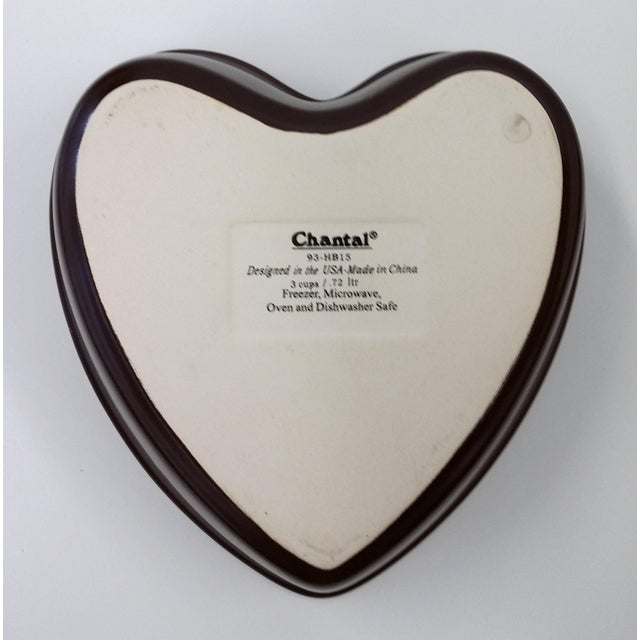 Chantal Pink Ceramic Heart-Shaped Bowl - Image 6 of 7