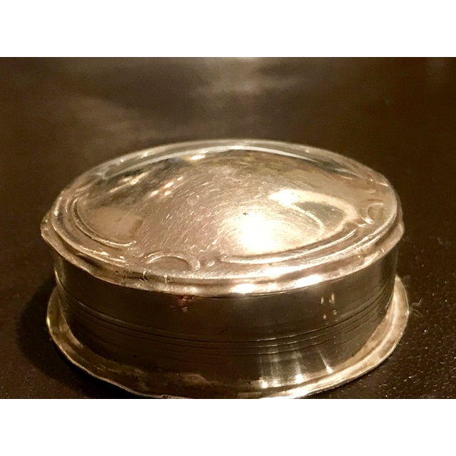 Antique Sterling Silver German Box - Image 8 of 9