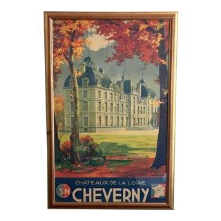 Framed French Travel Poster