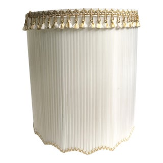 Hollywood Regency Pleated Oversize Lamp Shade
