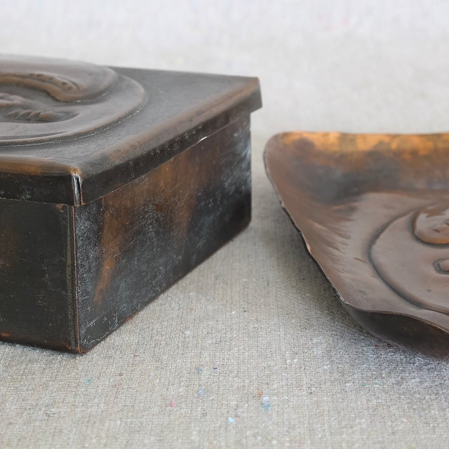 Art Deco African Box & Tray - Image 5 of 8