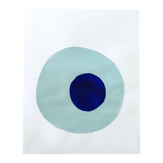 "Neicy Frey ""Dot No. 26, Clear"" Original Painting on Paper"