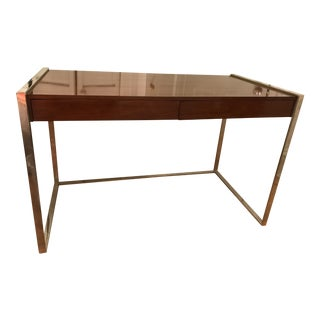 Williams Sonoma Lacquered Desk