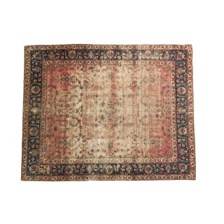 Antique Yazd Carpet - 8' x 10'