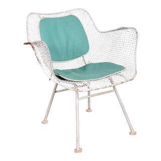 Russell Woodard Sculptura Patio Chair with Original Pad