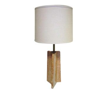 Travertine Lamp