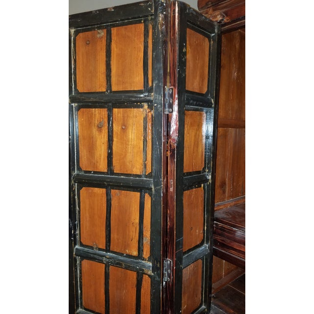 Rosewood Asian Armoire Cabinet - Chino, Ca - Image 8 of 11