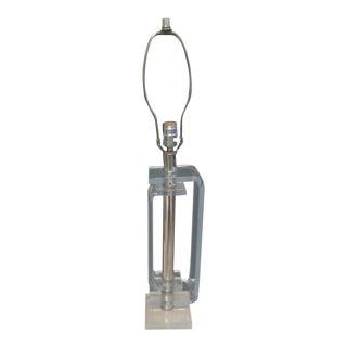 Vintage 1960's Automax Lucite Lamp